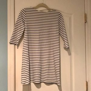 Free People Stripped Three Quarter Dress Size XS/S